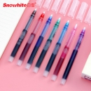 6支白雪直液式走珠笔彩色中性笔¥7