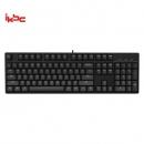 iKBC C104 机械键盘 104键 Cherry轴 红轴 黑色286元包邮(需用券)