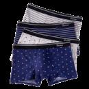 ¥19.9 Bejirog北极绒B3001-10男士抗菌平角内裤¥20