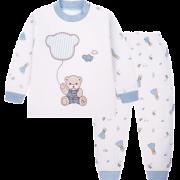 Classic Teddy 精典泰迪 儿童保暖内衣套装 29.9元包邮(需用券)