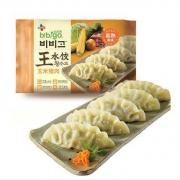 bibigo 必品阁 玉米猪肉王水饺 600g 24只29.8元,可优惠至14.9元