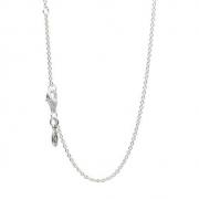 PANDORA潘多拉590412925银女士项链*2件