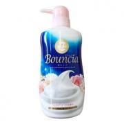 Cow 牛牌 Bouncia 浓密泡沫花香沐浴露 550ml *3件 99元包邮包税(合33元/件)¥99