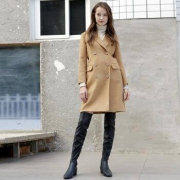 京东京造J.ZAO97062019051538女士100%羊毛毛呢大衣低至499.5元