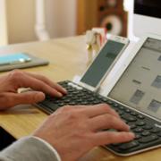 全键盘,3设备快捷切换:罗技 无线蓝牙键盘K780