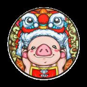 JANE WYATT 简·悦 中国风 锁边鼠标垫 圆形300*3mm 8.8元包邮