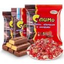 阿孔特 俄罗斯进口 巧克力紫皮混合糖 500g *2件28.7元包邮(合14.35元/件)