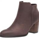 US6-6.5码,ECCO 爱步 Shape 55型塑系列 女士磨砂牛皮短靴prime到手约629.7元(天猫1709元)