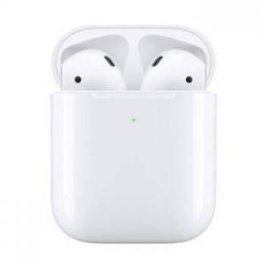 Apple 苹果 新AirPods(二代)无线蓝牙耳机 有线充电盒版