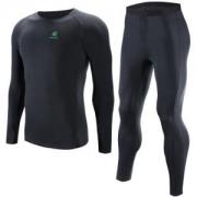 KAILAS 凯乐石 Coolmax 冬季保暖速干 KG410105 男女款运动内衣套装
