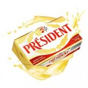 PRESIDENT 总统 发酵型动物淡味黄油块 200g*7件