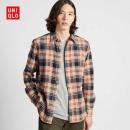 UNIQLO 优衣库 421199 男装 法兰绒格子衬衫(长袖)79元包邮