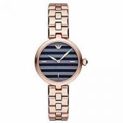 Emporio Armani 阿玛尼 AR11220 女士玫瑰金纹理表盘石英手表