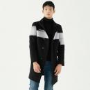 GXG 男士长款羊毛呢大衣203元包邮