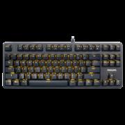 Philips 飞利浦 SPK8601 机械键盘(黑轴、87键) 79元