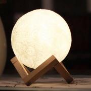 Menelaus 创意床头月亮灯