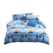 27日0点:MERCURY 水星家纺 挖掘机纯棉床上四件套 1.5米床199元包邮