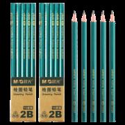 M&G 晨光 学生铅笔 20支 送卷笔刀+橡皮擦  券后8.9元