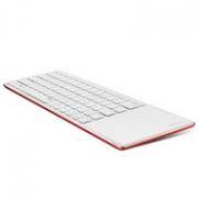外出办公不用带鼠标,82键+触控:雷柏 无线超薄蓝牙键盘E6700
