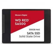 "WD 西部数据 红色 SA500 NAS 500GB 3D NAND 内置 SSD - SATA III 6 GB/S,2.5""/7mm,nas专用固态硬盘"