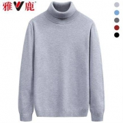 YALU 雅鹿 Y6011916003 男士高领针织衫