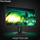 优派(ViewSonic) XG2703-GS 27英寸 IPS电竞显示器(165Hz、G-SYNC、2560×1¥2799包邮