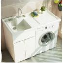 Uniler 联勒 免漆实木洗衣机柜 清风款 珠光白 120cm1198元