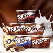 Dove 德芙 丝滑牛奶黑巧克力 224g/碗23.9元包邮