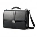 Samsonite 新秀丽 Leather Flapover Case 公文包$59.99(约422.58元)