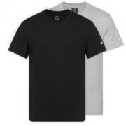苏宁SUPER会员:Champion 冠军 213182 男士纯棉圆领短袖T恤 双件装
