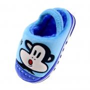 PaulFrank 大嘴猴 PF577K 儿童棉拖鞋*2件25元(2件5折,合12.5元/件)