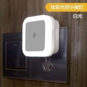 PLUS会员:银之优品 智能光控感应LED灯 插电款