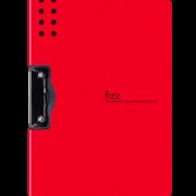 fizz A4资料文件夹 黑色单夹 横/竖款可选 6.5元包邮(需用券)