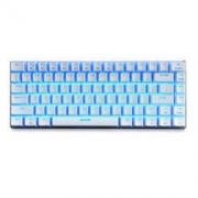 AJAZZ 黑爵 极客AK33 机械键盘 青轴 白色 单色背光