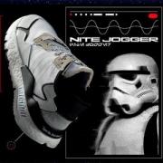 38女神节预售、历史低价: adidas 阿迪达斯 三叶草 X STAR WARS NITE JOGGER 男女款运动鞋