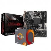 29日0点: ASRock 华擎 A320M-HDV 主板 + AMD 锐龙 R3 2200G CPU处理器 板U套装799元包邮