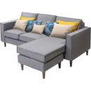 SLEEMON 喜临门 多姿 全拆式拼装布艺沙发 2299元包邮¥2299