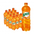 PLUS会员、限地区:美年达 Mirinda 橙味 汽水碳酸饮料 1L*12瓶*2件66.24元(合33.12元/件)