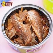 香酥+无骨+大分量!105gx4罐 林家铺子 深海黄花鱼罐头