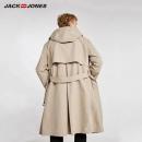 杰克琼斯 218321566 男士中长款风衣外套260元