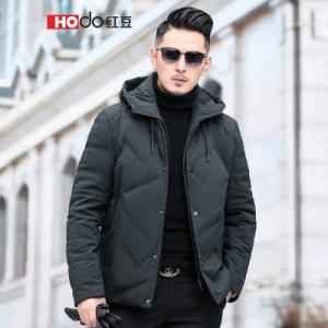 Hodo 红豆 DXISY046S 男士短款羽绒服