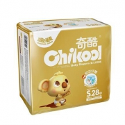 Chikool奇酷 金装纸尿裤 S28片(送10个口罩)29.9元包邮