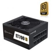 SILVER STONE 银欣 ET700-MG 额定700W 电源(80PLUS金牌/全模组/五年质保) 599元包邮