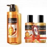 HairRecipe 日本 发之食谱 蜂蜜富养水润洗发水530ML*3件
