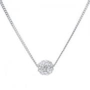 Givenchy 纪梵希 60414680-NY0 密镶球型银色百搭女士项链
