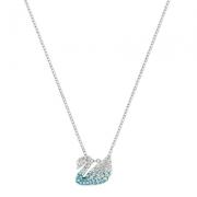 【直营】SWAROVSKI施华洛世奇 Iconic Swan小号天鹅 女士 人造水晶项链 送恋人299元包邮