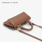 CHARLES&KEITH CK2-80671083 翻盖手提单肩包