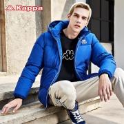 Kappa卡帕男运动羽绒服冬加厚连帽防寒服保暖外套360元