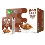 MENGNIU 蒙牛 早餐奶 核桃味 利乐包250ml*16盒*3件109.4元(下单立减)