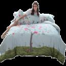 Dohia 多喜爱 蜗牛与玫瑰树 全棉四件套 1.5m床 低至159.2元¥159